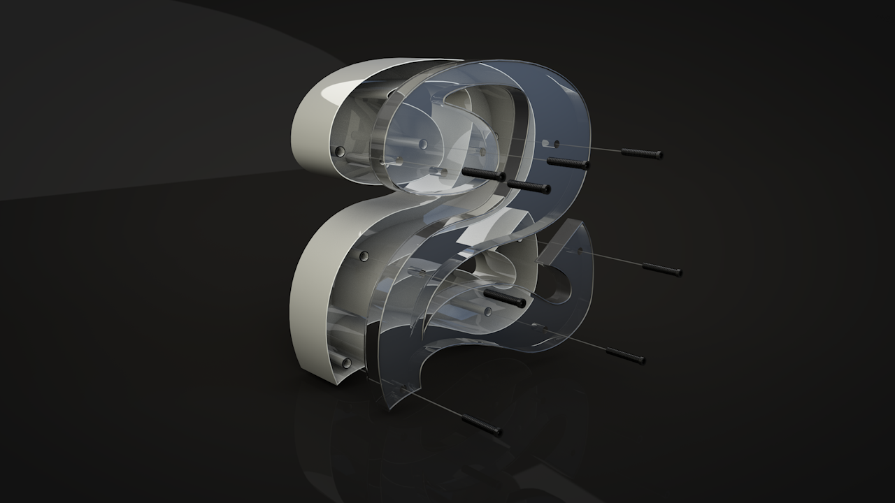 Cinema 4D Tutorial: realize the Plastic and Glass effect | 3DArt