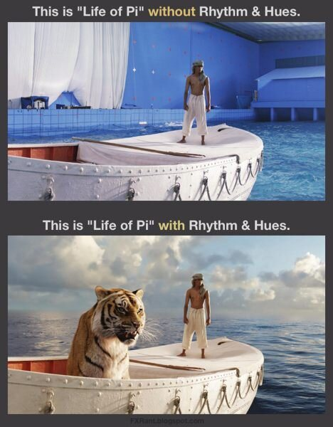 Oscar 2013 life of Pi - VFXProtest
