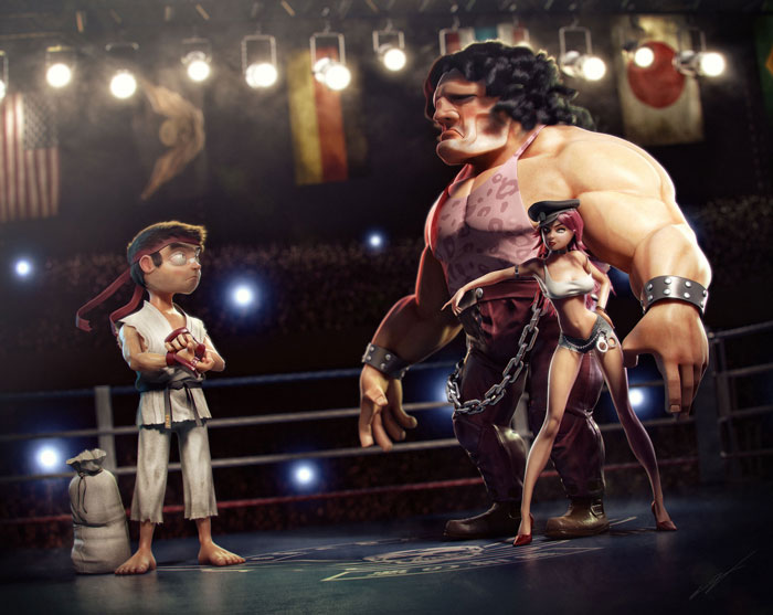 Street-Fighter-III-Fuurinkazan_3dart