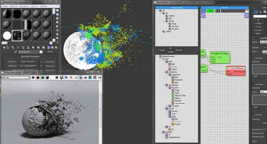 Tutorial thinking particles rayfire 3ds max step 1 for 3ds max step by step tutorials for beginners