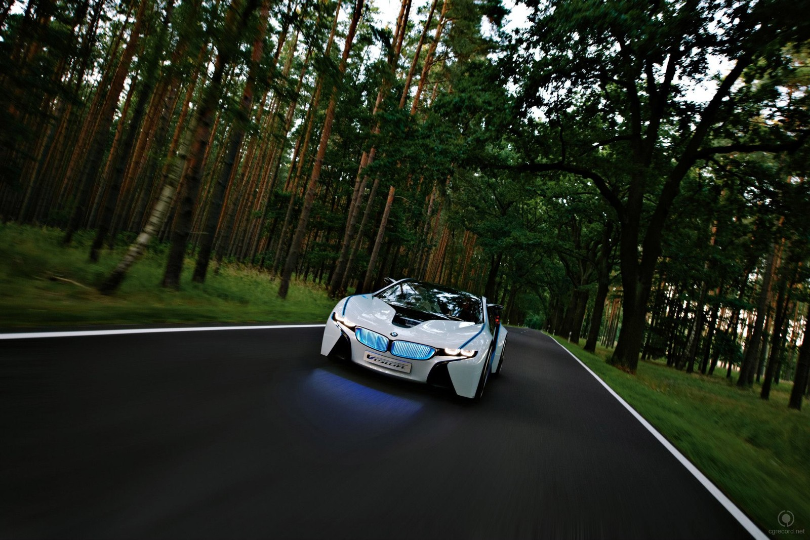 BMW Vision EfficientDynamicsi_automotive_3dart