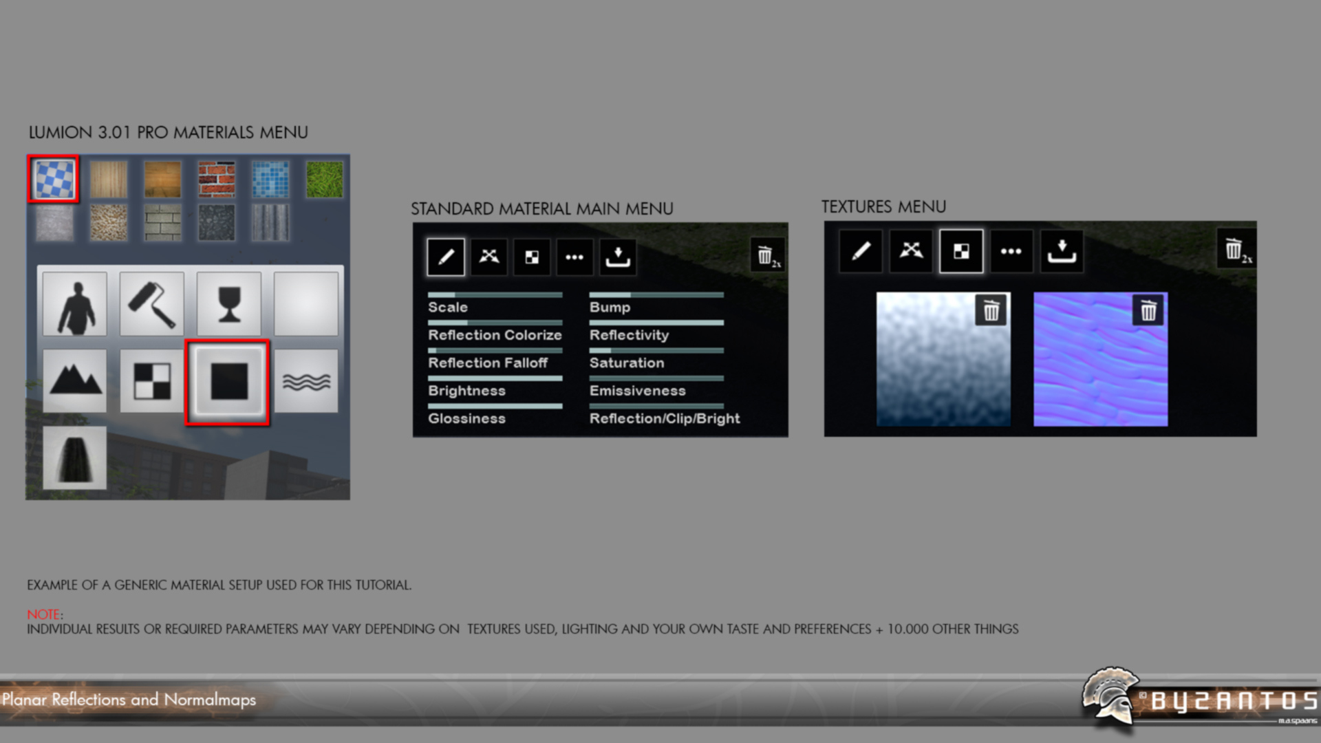 Lumion-Tutorial-Planar-Reflections-with-NormalMaps-on-Opaque-Surfaces-Settings2-1