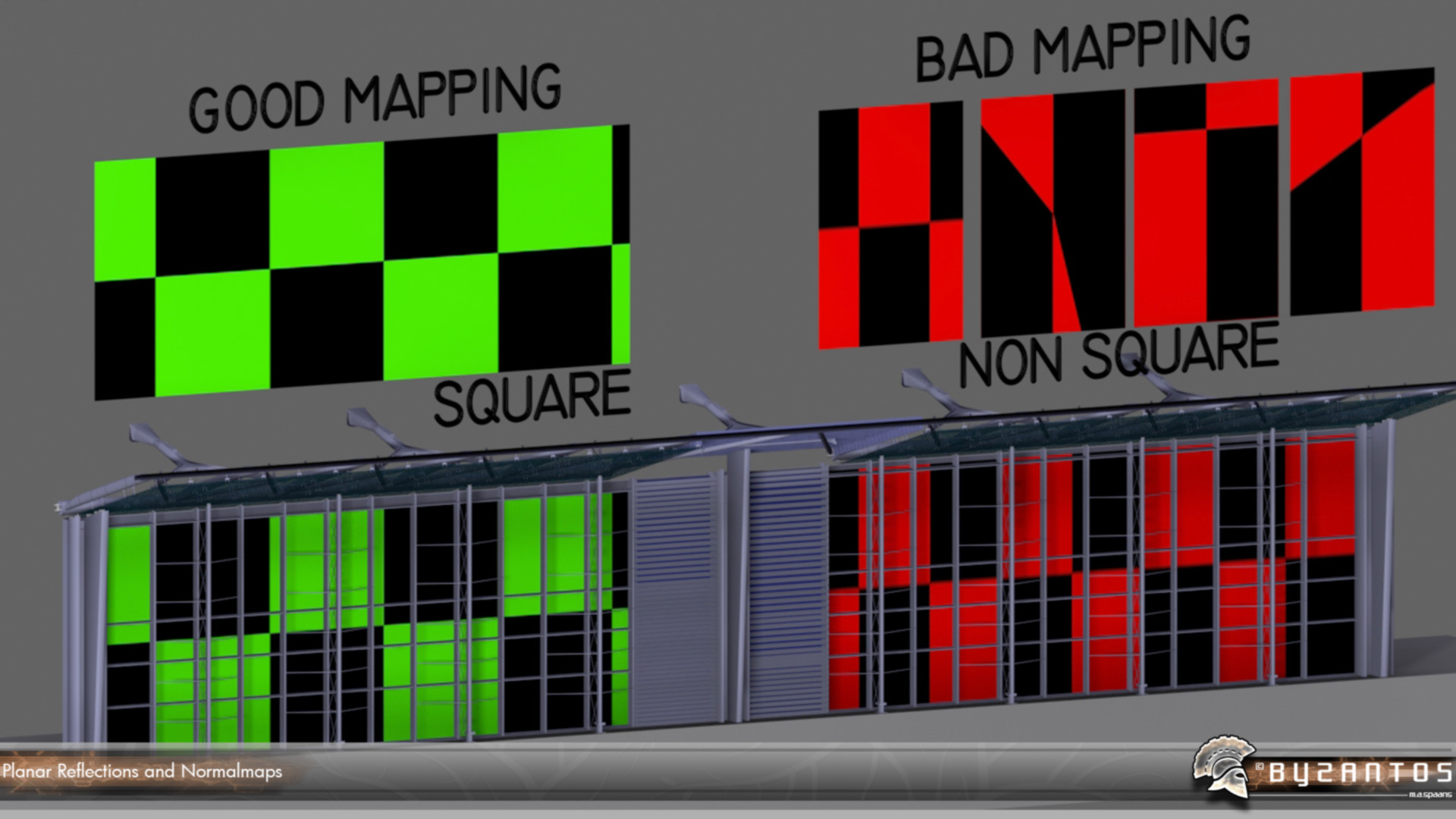 Lumion-Tutorial-Planar-Reflections-with-NormalMaps-on-Opaque-Surfaces-UVMapping