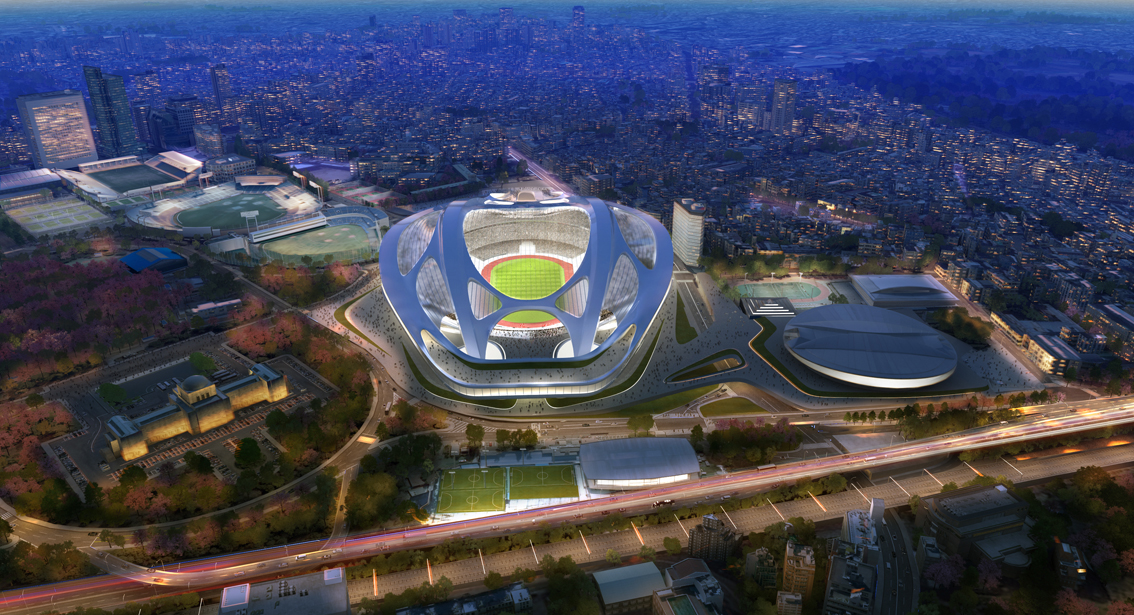 National Stadium_Zaha Hadid