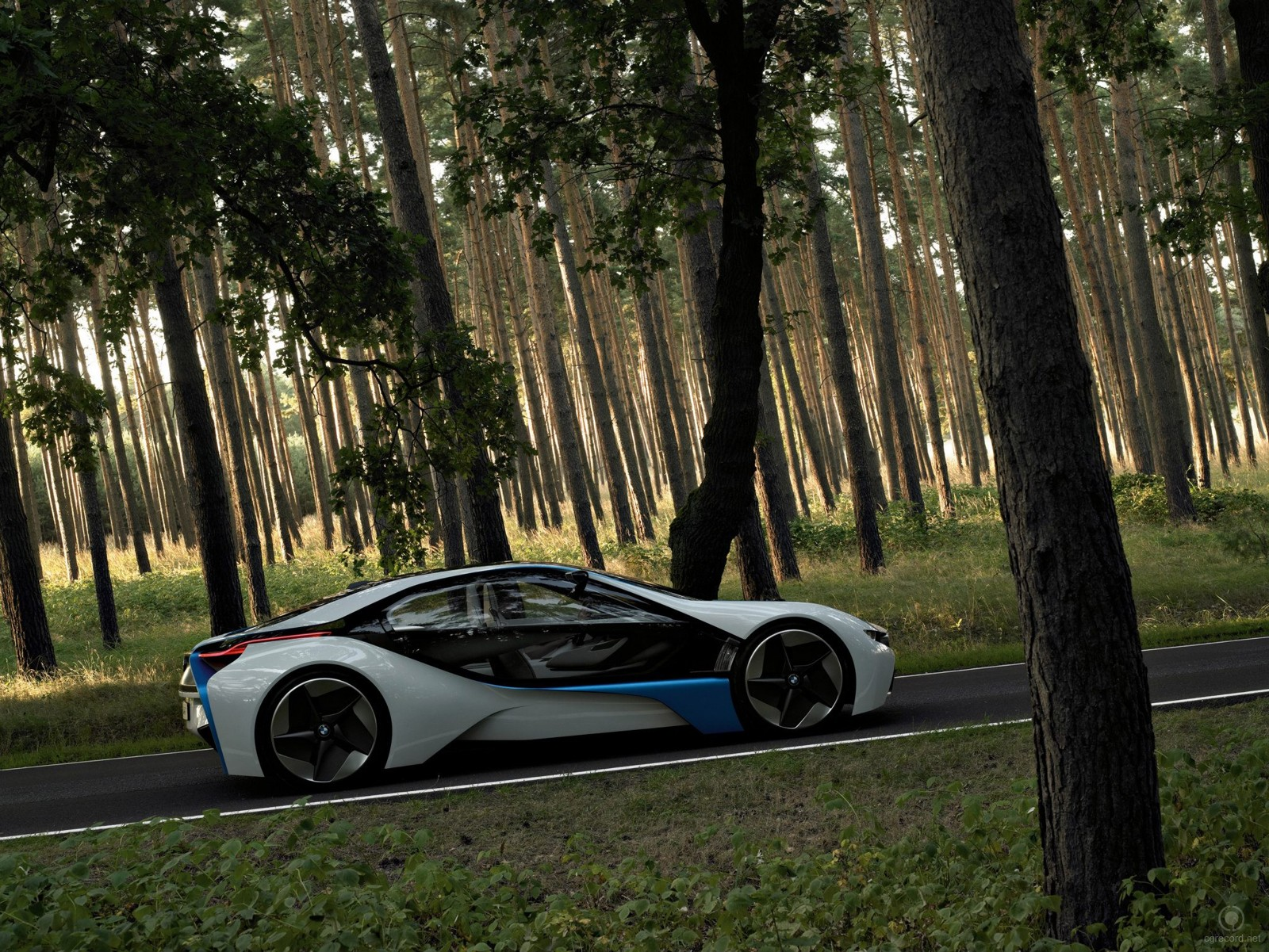 The BMW Vision EfficientDynamicsi_3dart