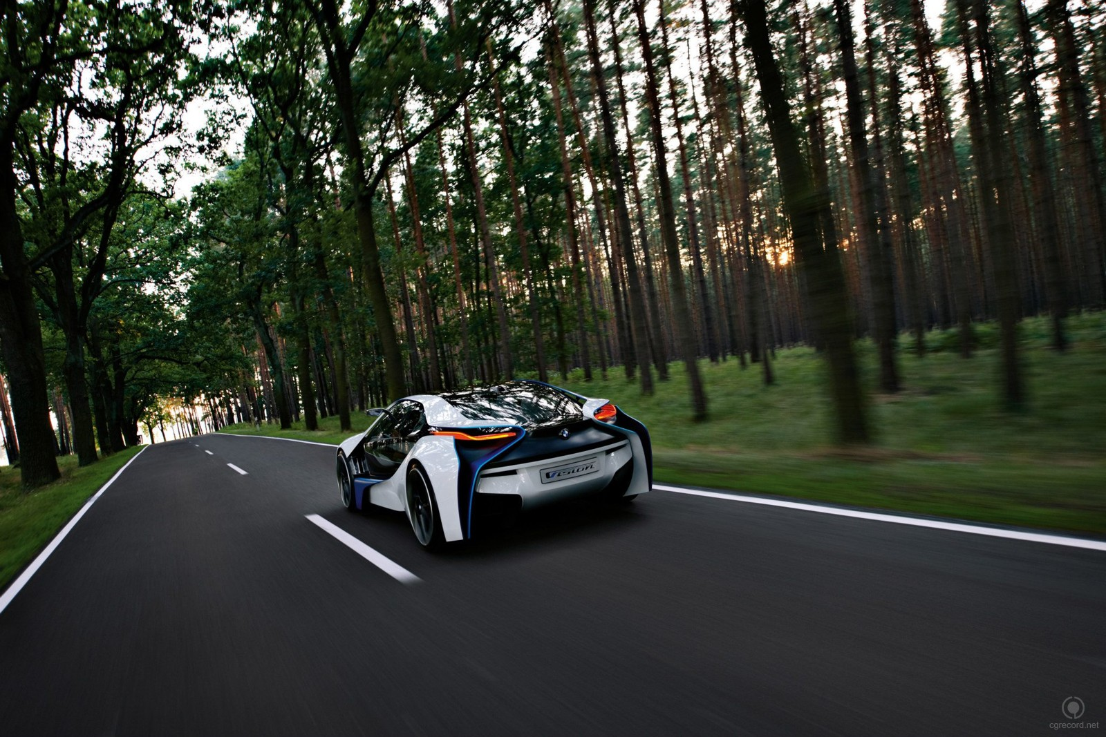 The BMW Vision EfficientDynamicsi_automotive