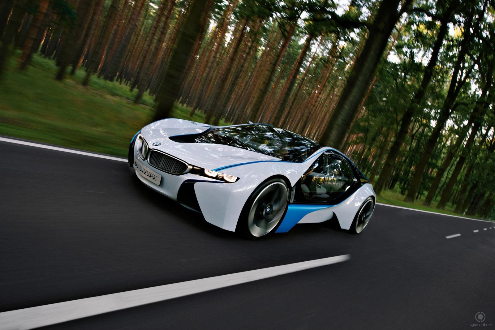 The BMW Vision EfficientDynamicsi_cgrecord-net717