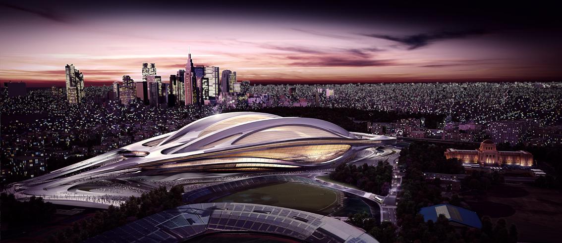 Tokyo National Stadium_Zaha Hadid