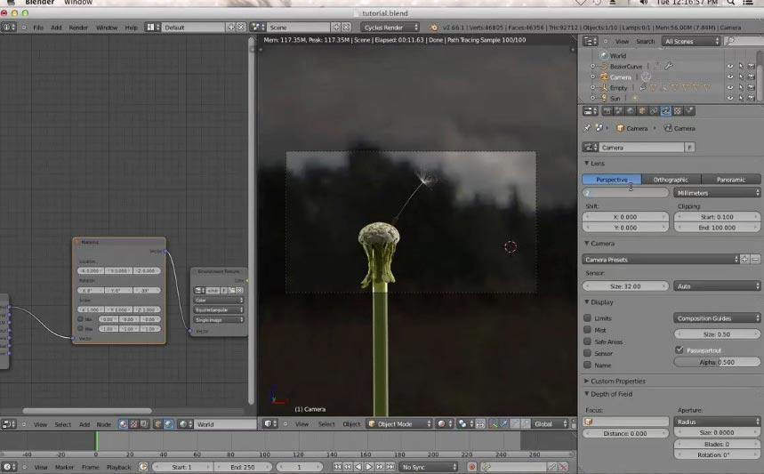 Blender 2 6 Character Modeling Tutorial : Blender cycles tutorials