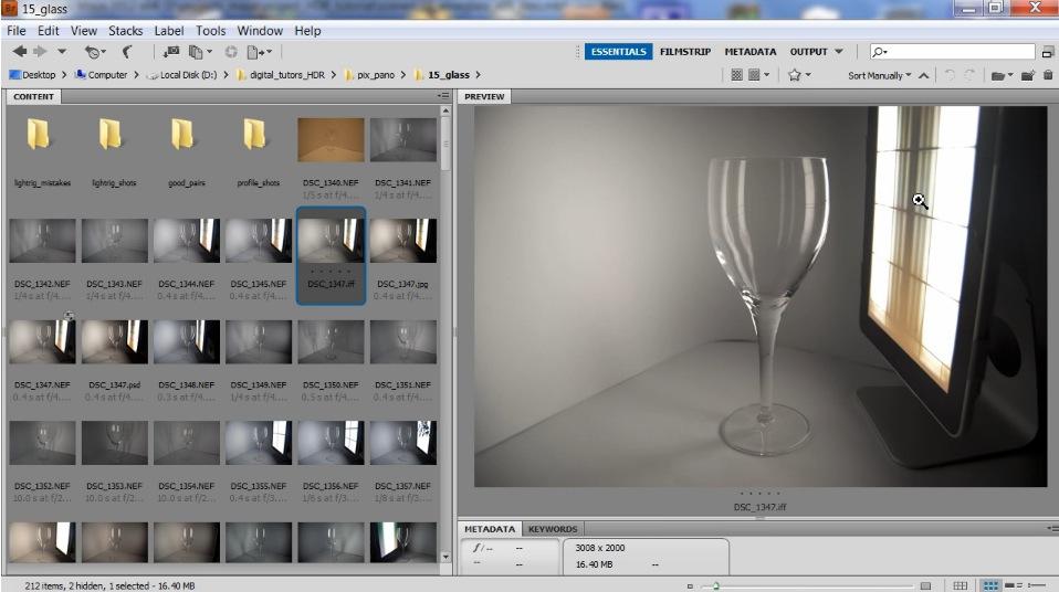 Simulare le luci dei film con hdr textures