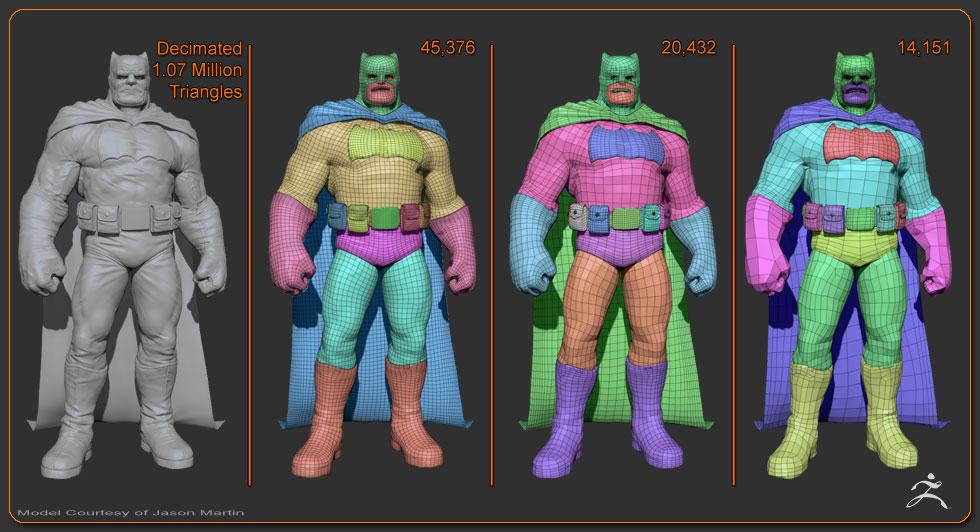 Batman_ Zbrush 4R6