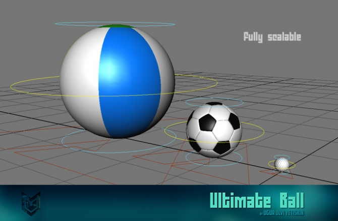 Ultimate-ball3DART