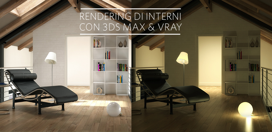 Renderign di interni con 3ds max e vray tutorial for Programmi rendering gratis
