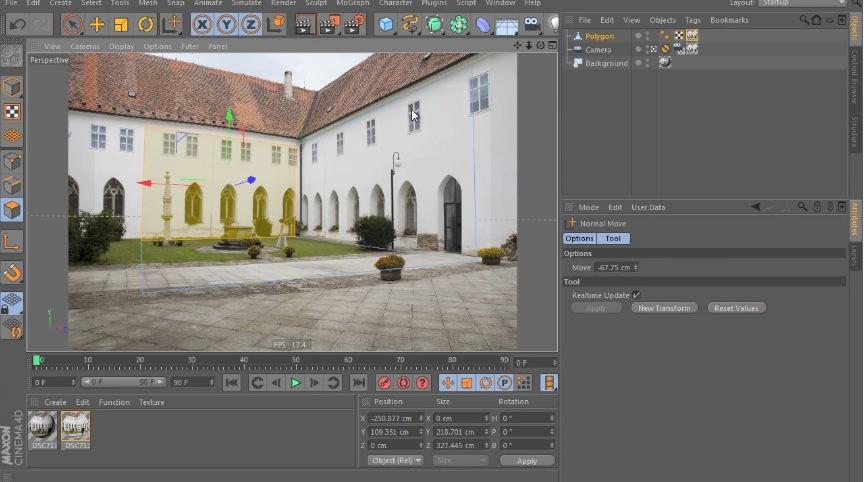 Cinema 4D R14 Camera Calibration Tutorial