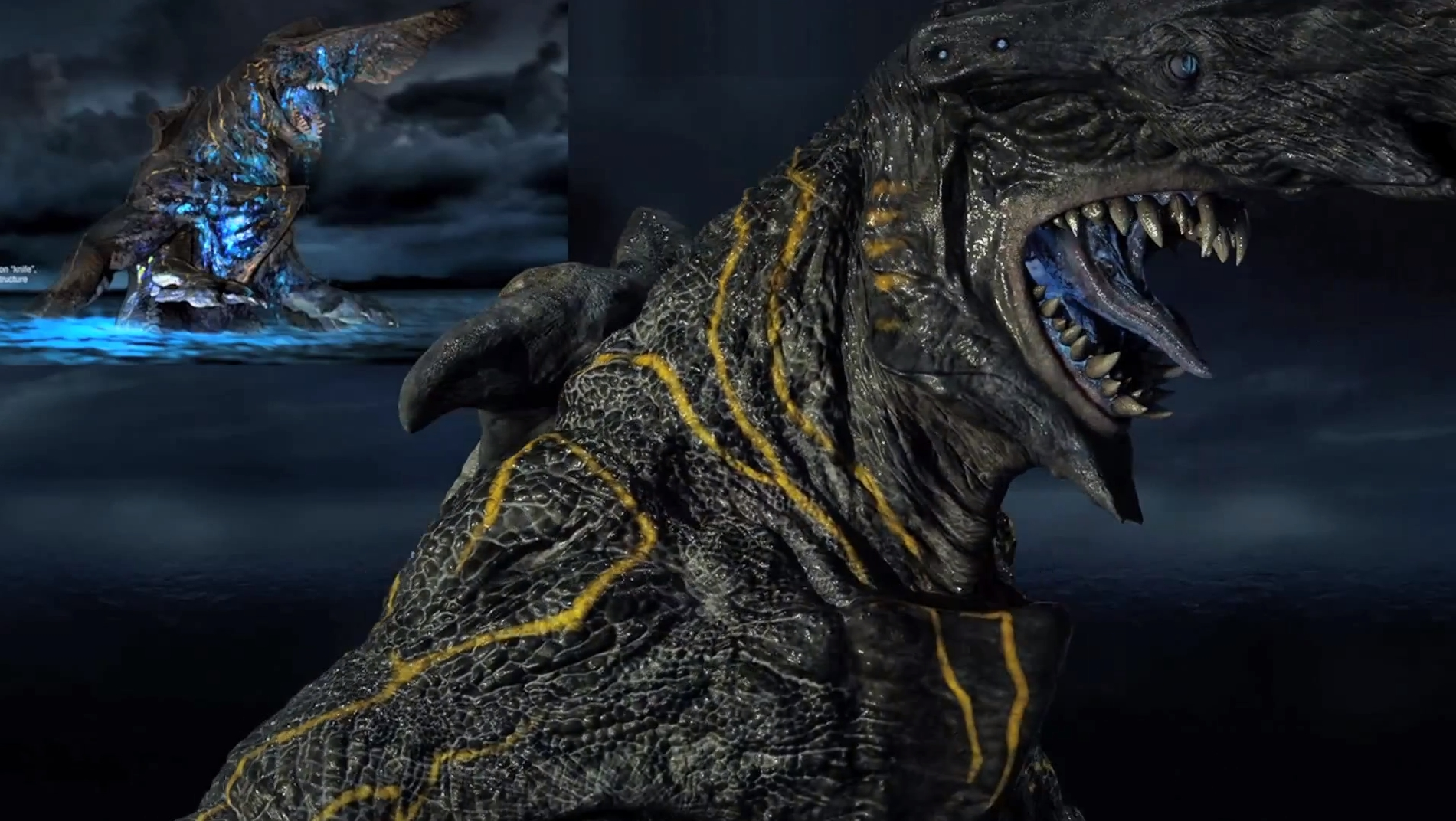 monster_Pacific Rim Digital Art