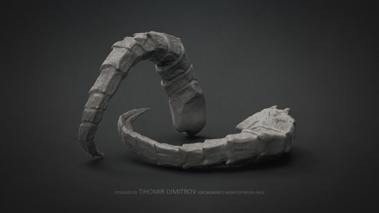 BadKing_Monster_Tihomir_Dimitrov_Horn_3dartist