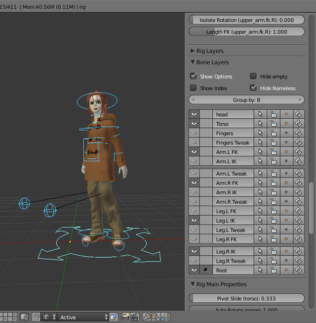 Download Bone Layer Manager per Blender 2.63