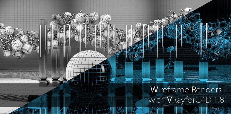 Cinema 4D | Creare un render in Wireframe con V-Ray