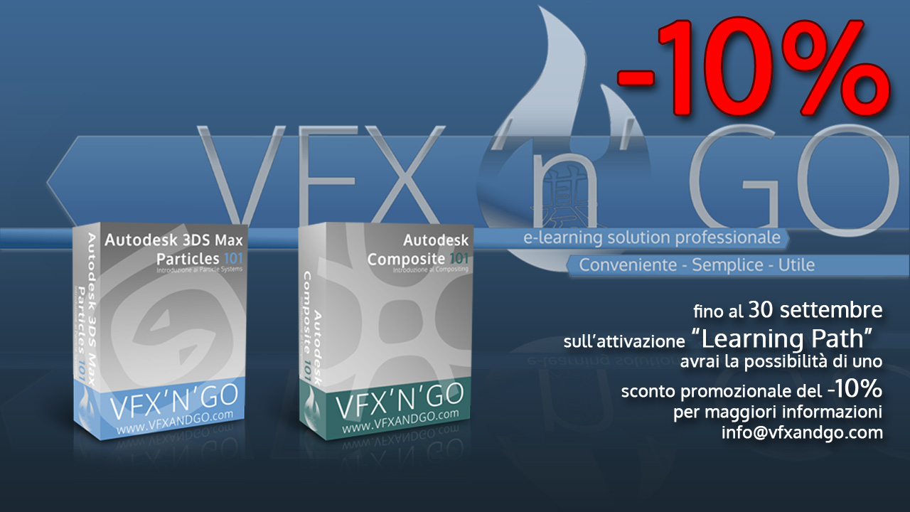VFX and Go - Corsi di Particles e Compositing