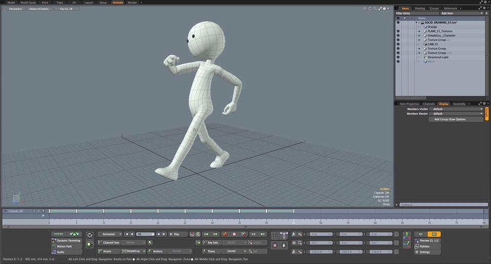 12 Principi di animazione in Modo