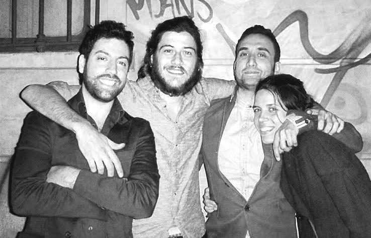 il Team di OFFICE KINGDOM: Salvatore Centoducati, Giulio De Toma, Ruben Pirito, Eleonora Bertolucci