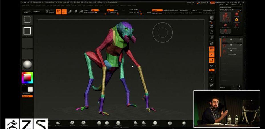 Creature: Character:Concept Artist, Jerad Marantz_3dart