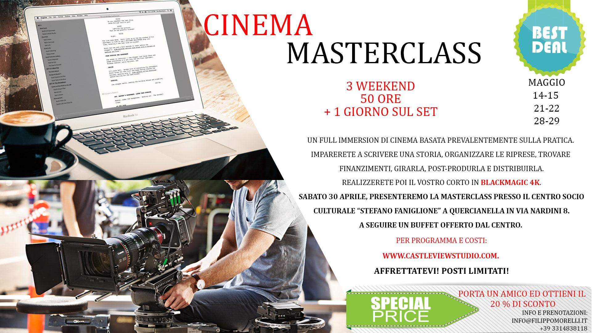 Cinema-MASTERCLASS