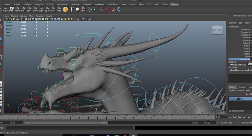 Dragon-Rig-Maya