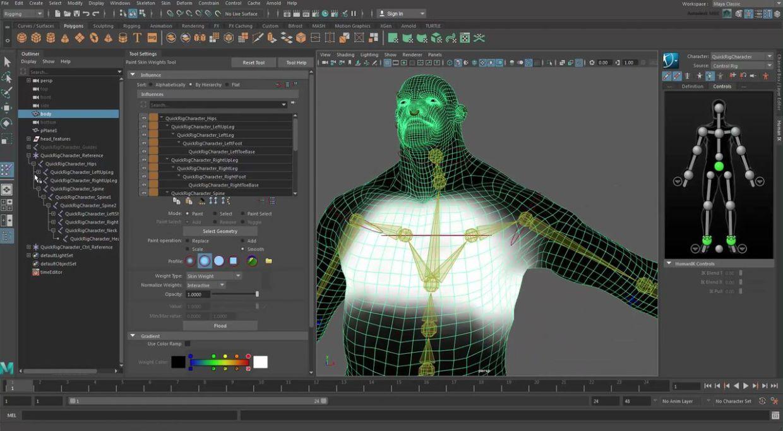 tutorial maya 2017 Maya 2017 Tutorial - Rigging and Skinning a Character