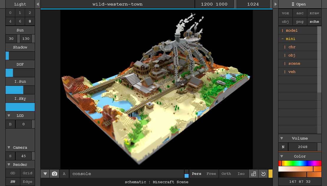 Image result for MagicaVoxel 3d