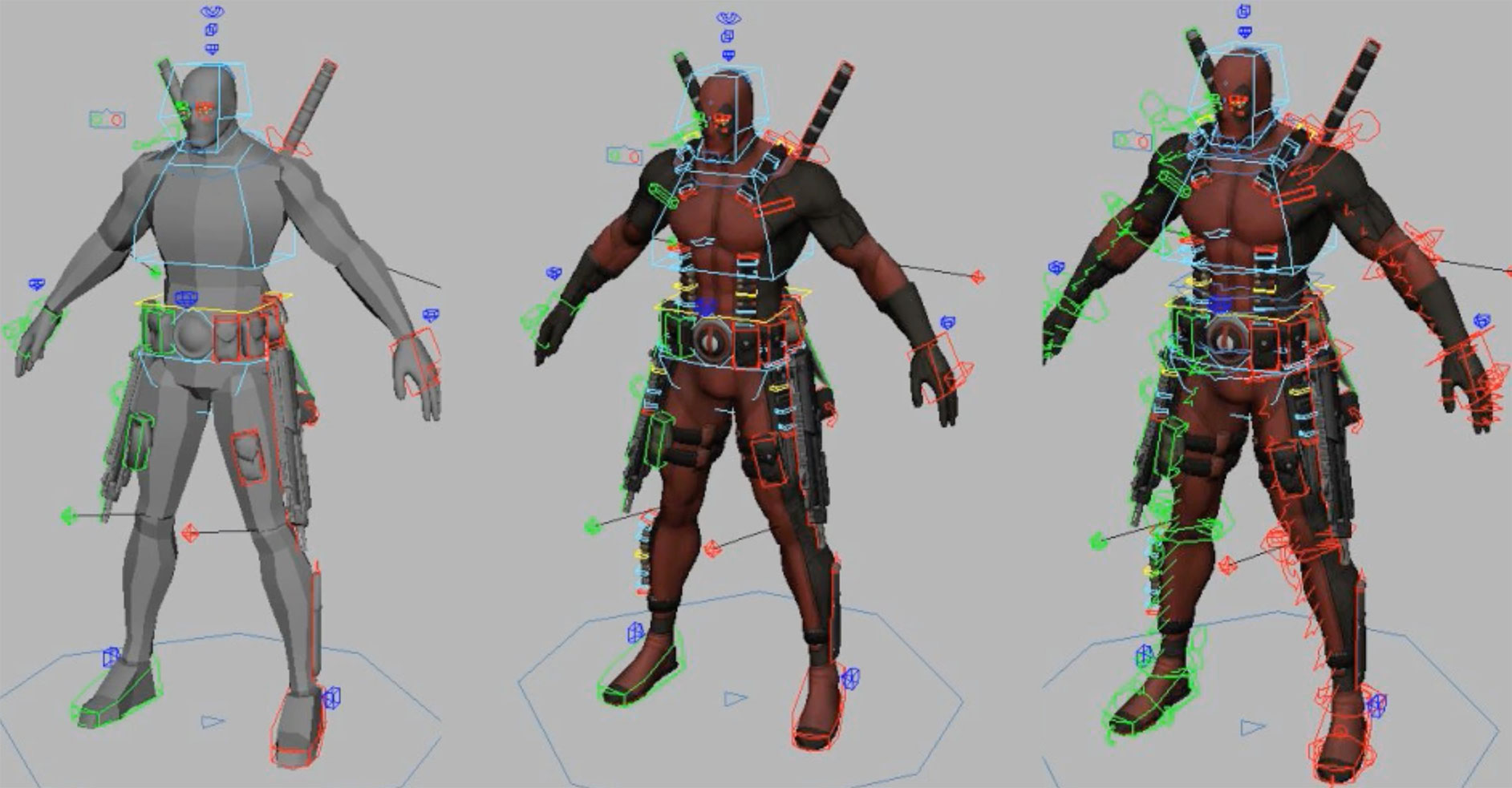 Download Free Rigged 3d Model | 3DArt