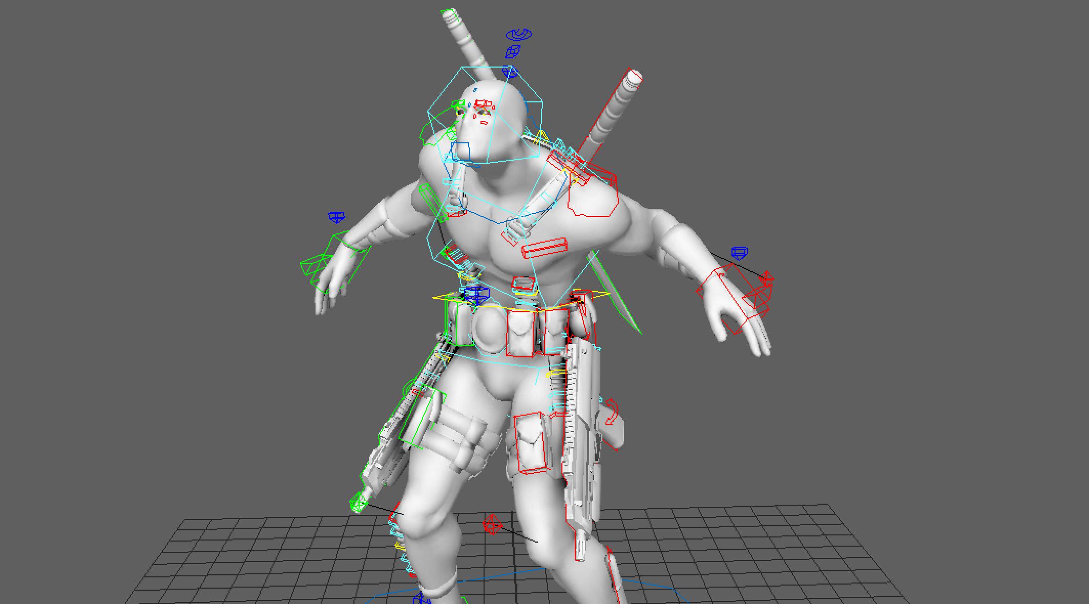 Download Free Rigged 3d Model | 3DArt