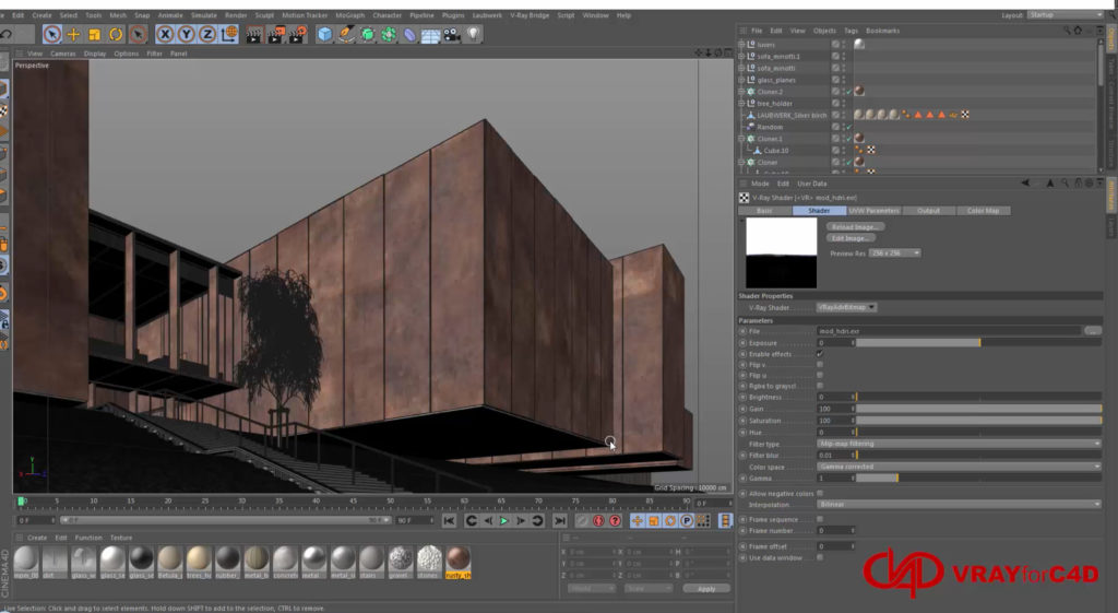 GETTING STARTED WITH V-RAYFORC4D 3 4   3DArt