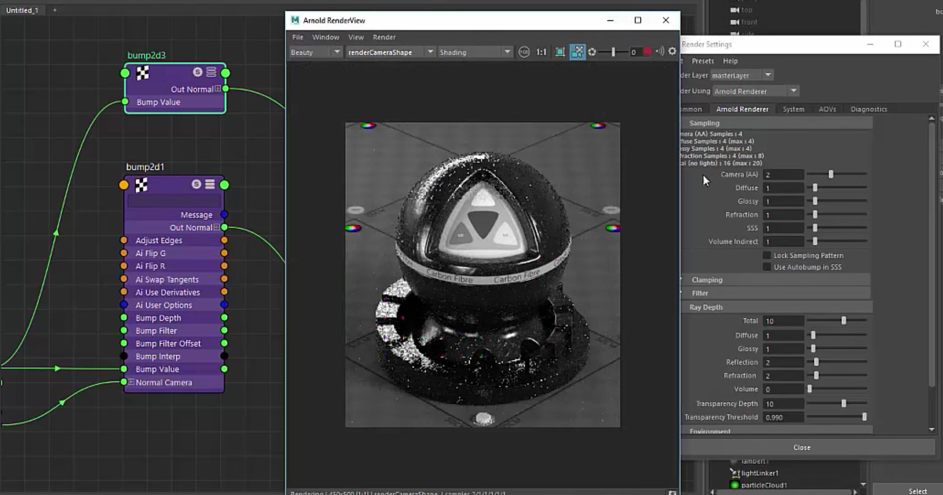 carbon fiber shader in arnold download 3dart