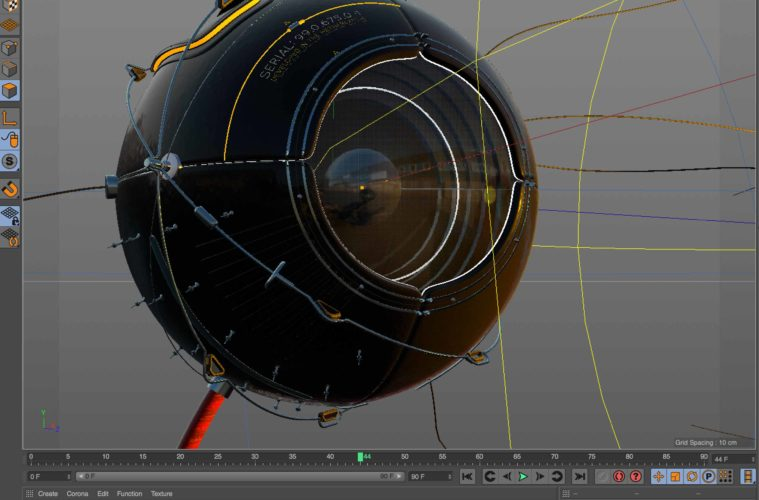 Realistic Lens Material with Thin Film Shader in C4D | 3DArt
