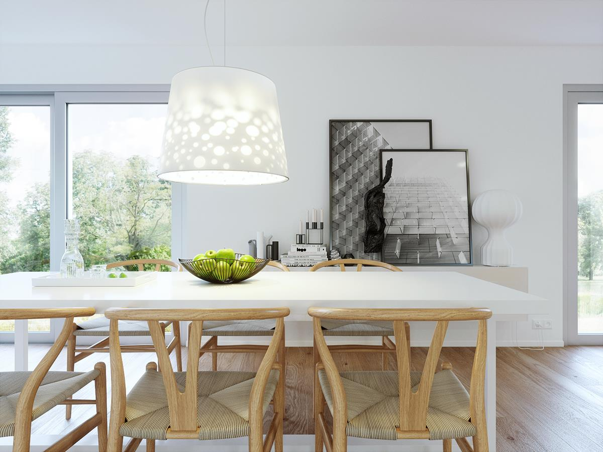 New interior project- 3ds max and Fstorm render by P&M studio