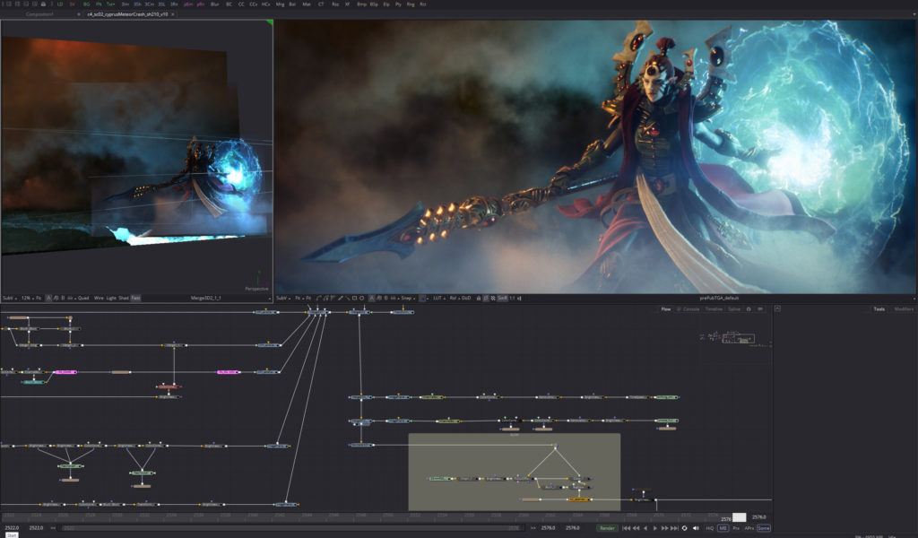 Dawn of War III Game Cinematic in Fusion Studio | 3DArt