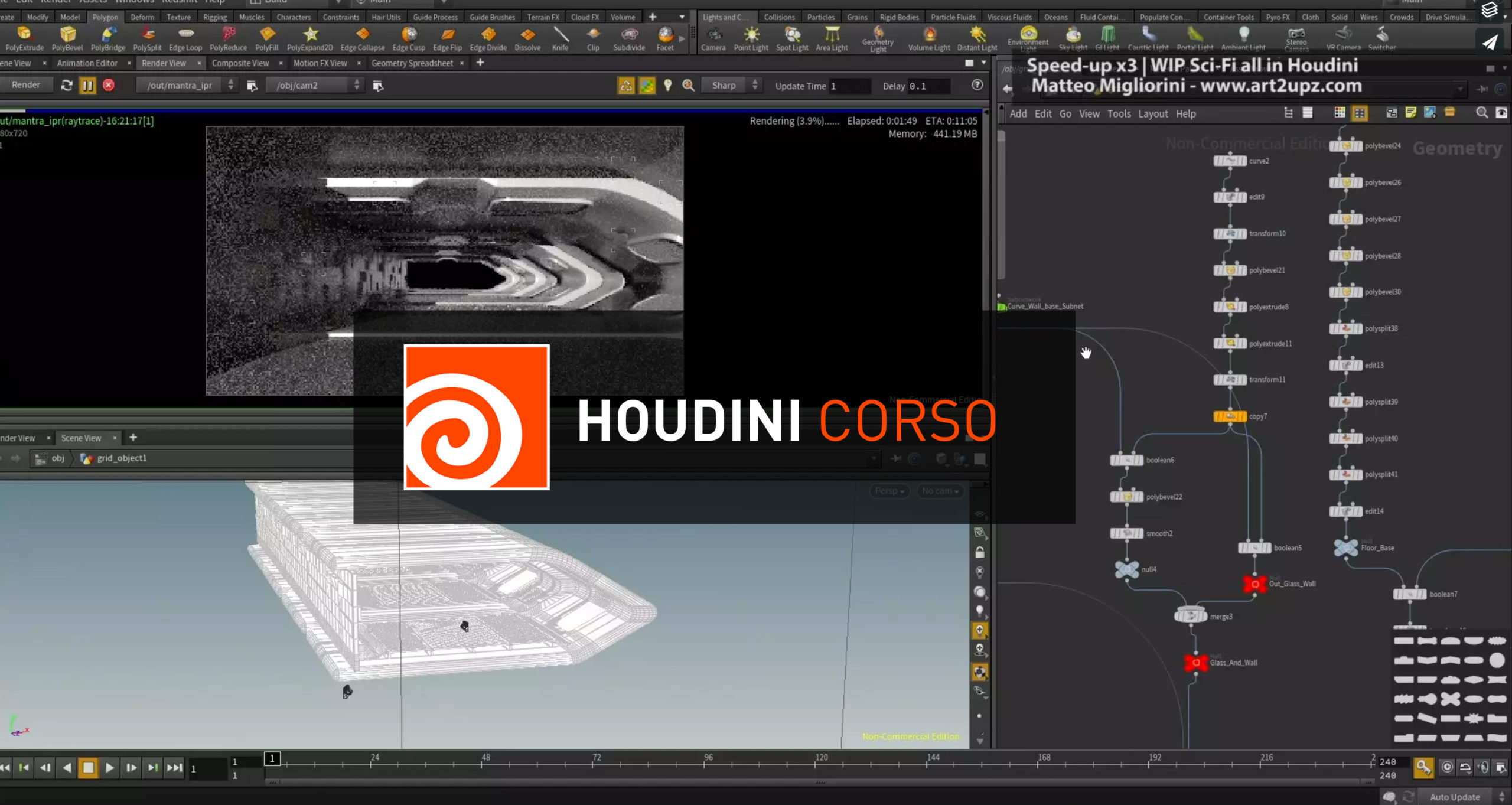 Houdini Courses Video Tutorial 3dart