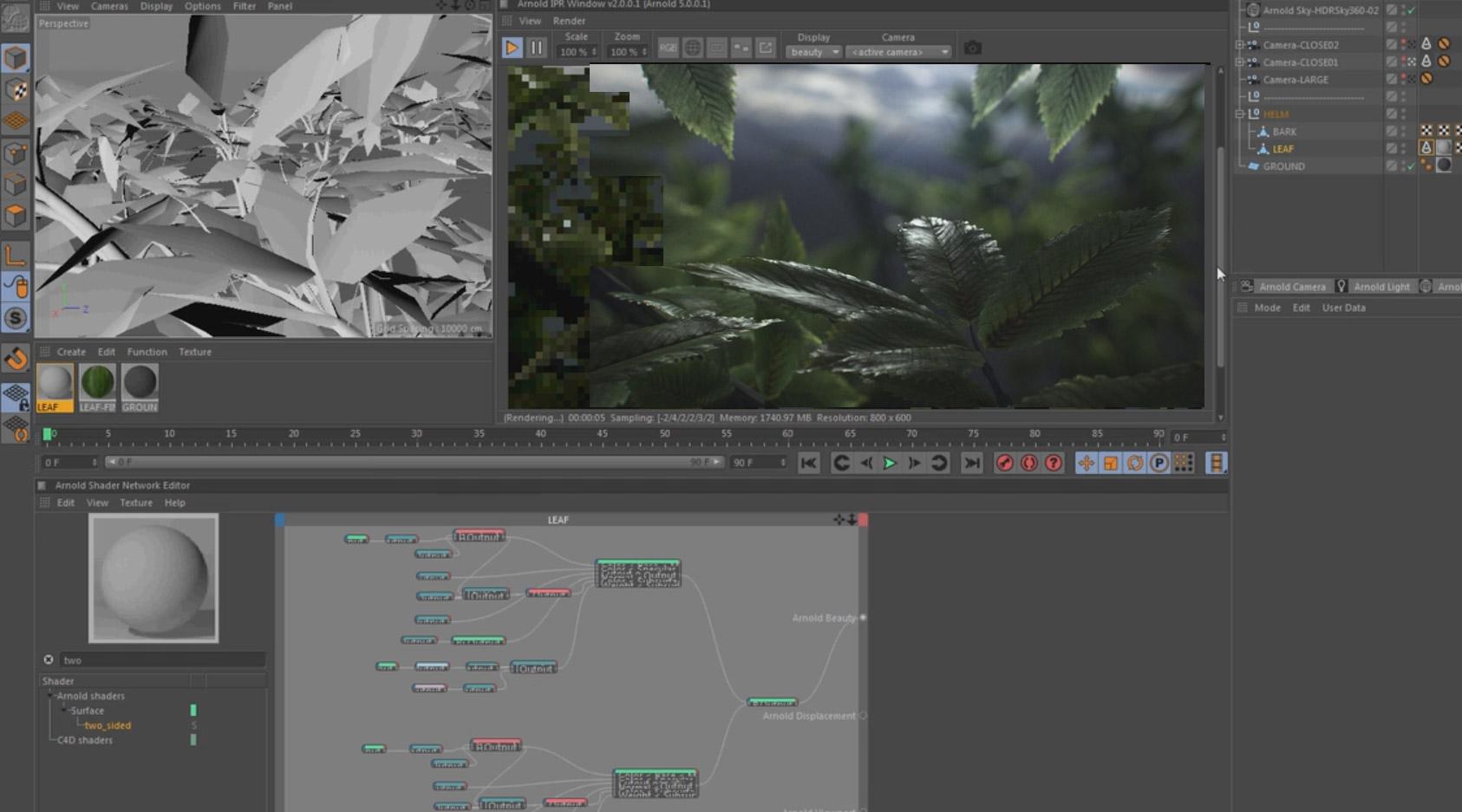 Arnold renderer tutorial