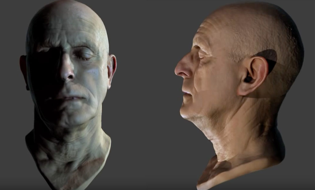 3D Scan Head Free 3D model | 3DArt