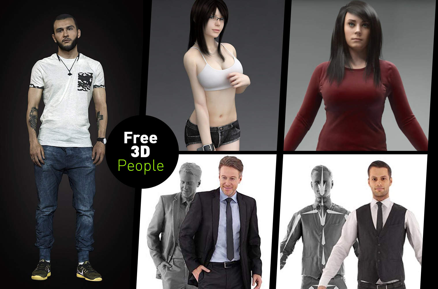 3ds max 2010 models free download