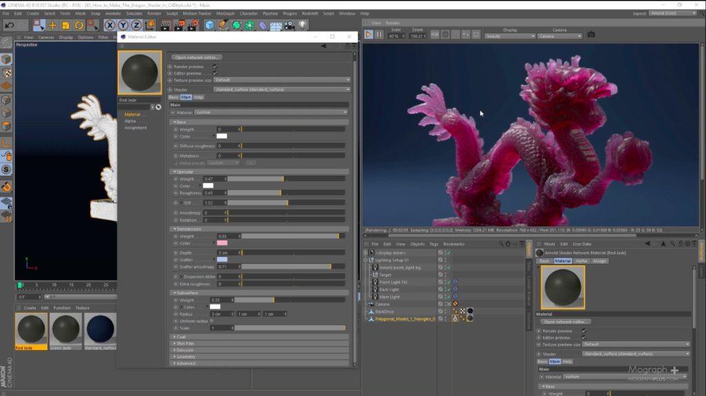 Arnold for Cinema 4D - Tutorial Shader   3DArt