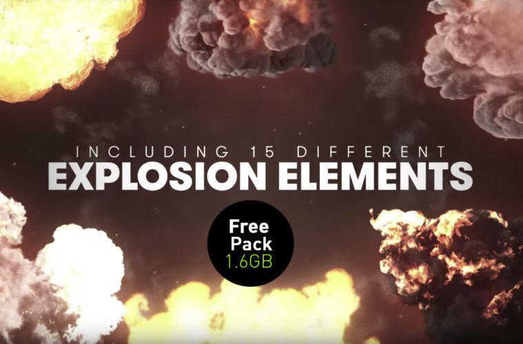 VFX Elements: 40 FREE Explosion | 3DArt