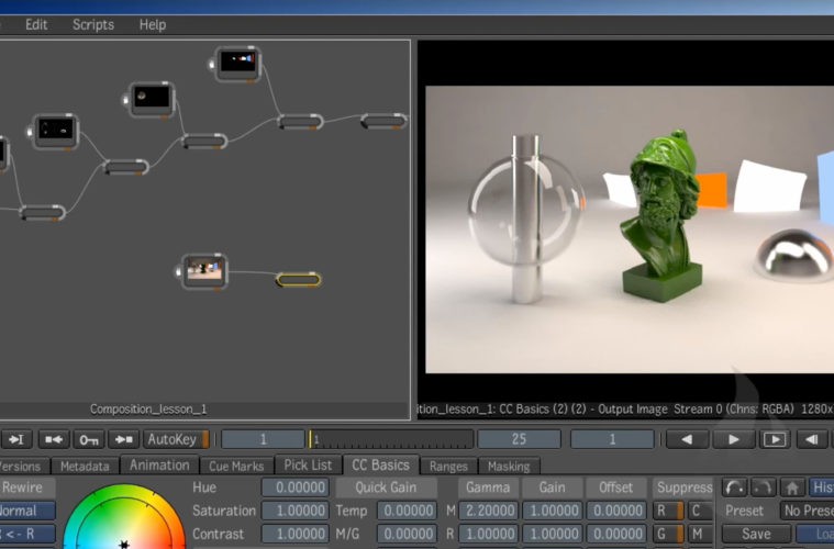 free course: Autodesk Composite 101 – compositing