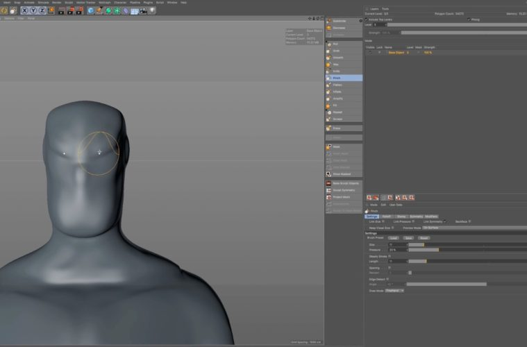 Cinema 4d Character Design Tutorials : How to create a d character in c dart