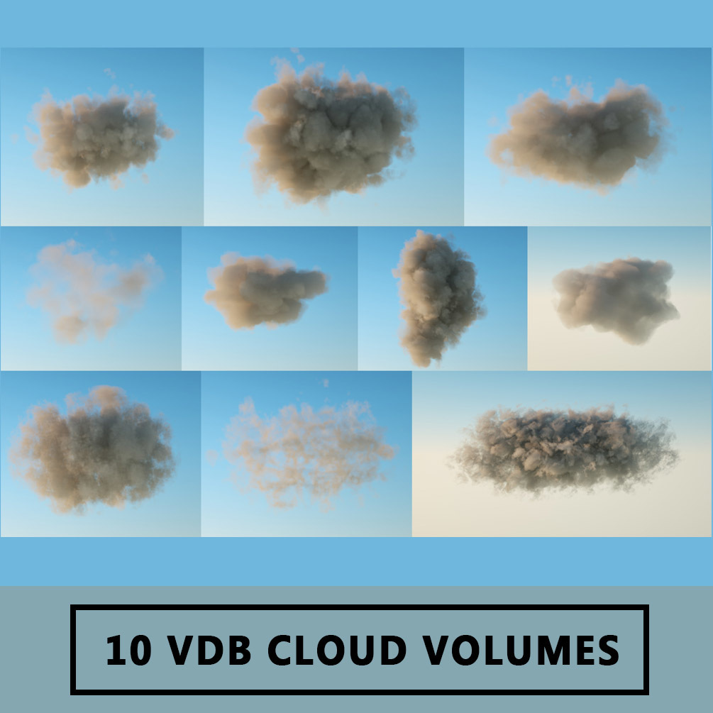 Download - 10 VDB Cloud Volumes | 3DArt