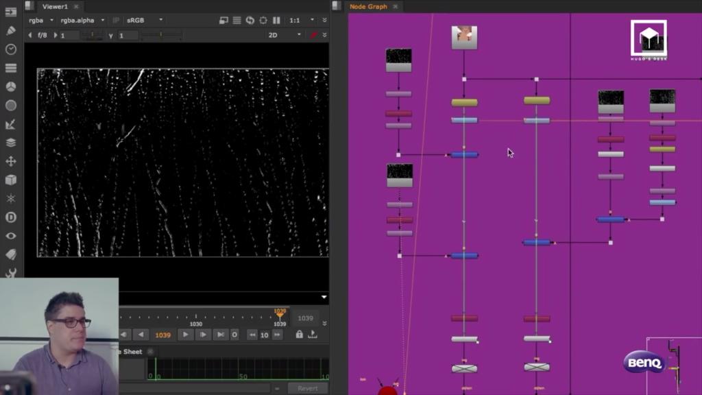 Now create realistic rain in Nuke | 3DArt