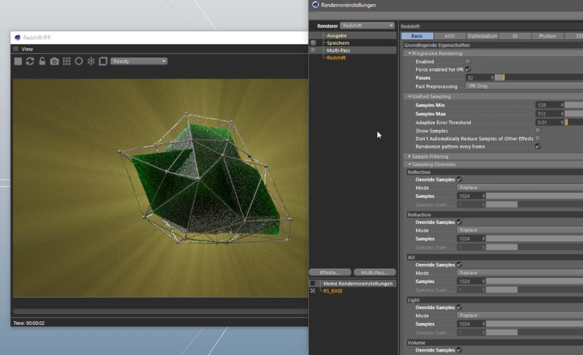 Redshift Volumetric Lights in Cinema 4D Tutorial   3DArt