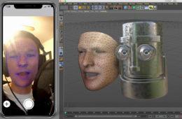 CV-AR: Facial Capture, Rig an Animji-style in C4D