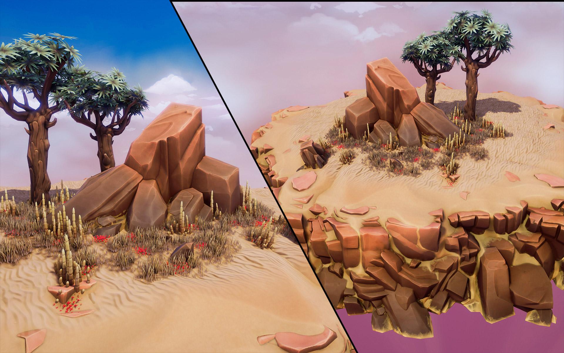 3D model Crimson Desert - Free Package | 3DArt